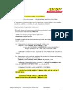 origens das aplicacoes - demonstracoes financeiras