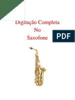 Alternate Sax Fingering Chart