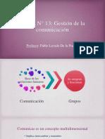 GP - Sesion N° 13 - Gestión de la comunicación