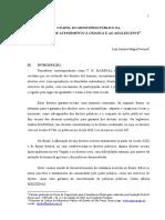 Papel Do Ministério Público Na Política de Atendimento à Criança e Ao Adolescente