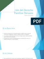 Evolución Del Derecho Familiar Peruano