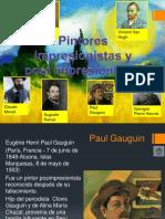 Pintores Impresionistas y Postimpresionistas