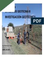 Investigación Geotécnica (Parte 1)