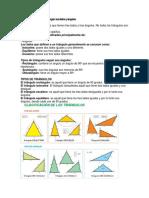 Clasificación de Triángulos Según Sus Lados y Ángulos