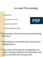Time-Series and Forecasting