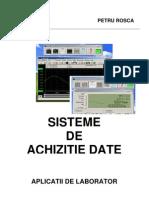 Sisteme de Achizitii de Date - are