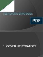 Test-taking Strategies 1