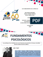 Fundamentos Psicológicos del currículo