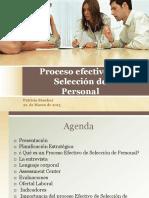 Proceso Efectivo de Seleccion de Personal