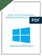 Quản Trị Hệ Thống Mạng Windows Server 2012 Phần 2