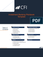 CFI Investment Banking Pitch Book 1