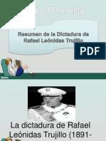 La Dictadura de Rafael Leónidas Trujillo (1891-1961