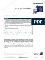 The Cytokine Milieu of Diabetic Wounds