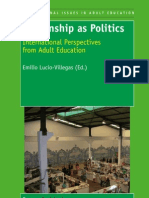 Citizenship as Politics - International perspectives from Adult Education