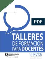 Manual de Debate Talleres de Formacion d