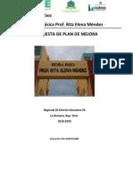 MODELO UCE Plan de Mejora