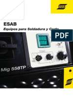 Catalogo General Equipos Esab