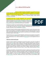 Diversidad Étnica y Cultural Del Ecuador_9no