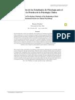 Temores Inicio Practica de La Psicologia Clinica-2009-Foladori