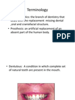 Anatomy for Complete Denture
