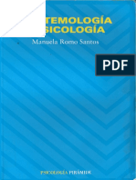 Epistemologia y Psicologia-manuela Romo Santos