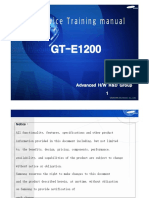 GT-E1200 Training Manual HW