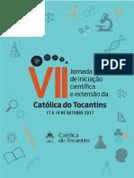 Anais da VII Jornada de Iniciação Científica e de Extensão da Católica do Tocantins.pdf