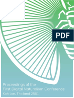 Proceedings of the First Digital Naturalism Conference