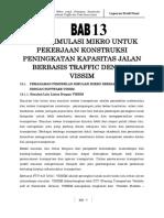 18. BAB 13 - Hasil Simulasi Mikro Berbasis Traffic Dengan VISSIM