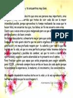 Carta Para Mi