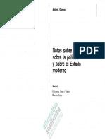 Gramsci - Notas Sobre Maquiavelo, Política y Estado Moderno-watermark