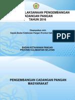 Evaluasi CPP Kaban 2016