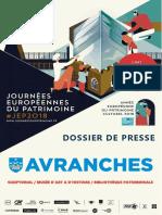 Journées Européennes du Patrimoine 2018 à Avranches