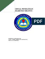 JURNAL PENELITIAN DIABETES MILITUS.docx
