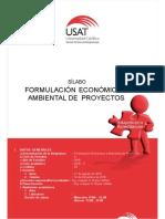 Silabos Formulacion Economica2016-II