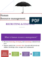 Rekrutmen & Staffing Keperawatan Di Rumah Sakit (2018