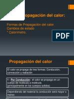 ## Calor - Ley de Propagacion Del Calor