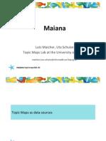 Maiana - The social Topic Maps explorer