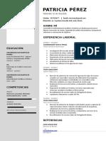 Plantilla CV Central Pack-1