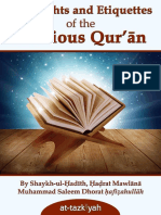 Rights and Etiquettes of the Qur'aan.pdf