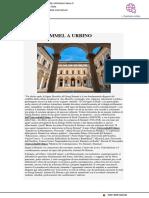 George Simmel a Urbino - Affari Italiani.it, 10 settembre 2018