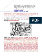 Los Primitivos Moradores Del Fin Del Mundo, Como Hipótesis Arqueológica Para La Comprensión Del Megalitismo en Europa