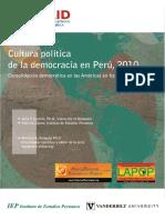 Usaid-cultura Politica en Democracia