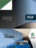 Skoda Fabia Katalogus 2017
