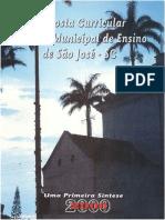 Proposta Curricular de Sao Jose