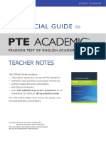The Official Guide PTE Academic