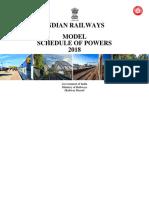 Model SOP 2018