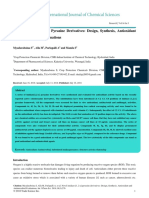 Novel Imidazo 1 2a Pyrazine Derivatives Design Synthesis Antioxidant and Antimicrobial Evaluations