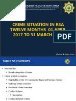 SAPS Crime Stats Presentation 2018