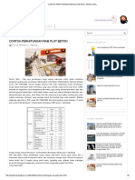 Contoh Perhitungan Rab Plat Beton _ Teknik Sipil